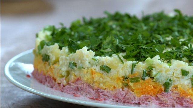 Ödüllü Patates Salatası