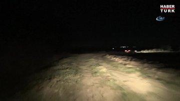 Silivri'de 20 metrelik çukura düşen dana itfaiye ekiplerince kurtarıldı