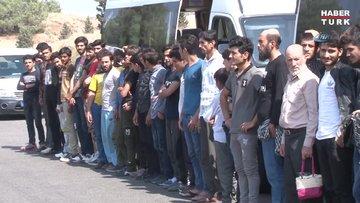 Adana'da 49 kaçak göçmen yakalandı - Son Dakika Haberler