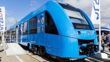 Hidrojen enerjili tren yollarda