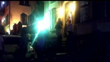 İzmir'de restorasyonu süren tarihi konak yandı