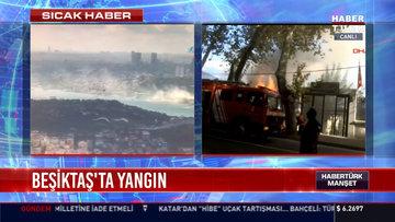 Beşiktaş'ta yangın