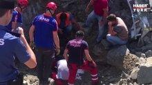 Bartın Devlet Hastanesi inşaatında feci kaza: İşçiler toprak altında kaldı