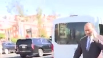 Meclis Başkanı Yıldırım, kaza yapan vatandaşlarla yakından ilgilendi