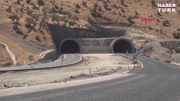 Terör örgütü PKK'nın 6 kez sabotaj düzenlediği Cudi Tüneli bitti