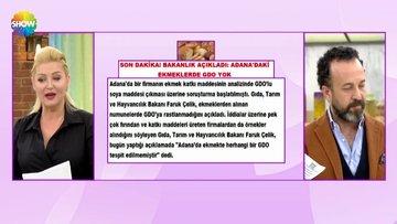 Bakanlık açıkladı Adana daki ekmeklerde GDO yok!