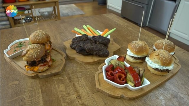 Üç Farklı Hamburger Köftesi