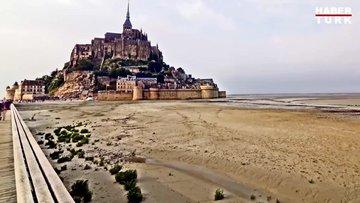 Medcezirin doğayı dönüştürdüğü yer Mont Saint Michel
