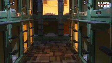 Japonya'nın 'özgün' konaklama kültürü: Kapsül oteller
