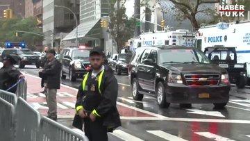 ABD Başkanı Trump'ın yenilenmiş dev limuzini ilk kez görüntülendi