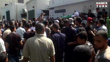 Filistin'de gözyaşları yine sel oldu...