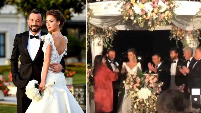 Bensu Soral ve Hakan Baş evlendi!