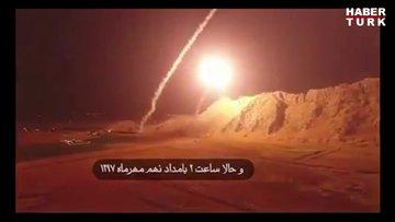 İran'dan Suriye'ye 'intikam' füzeleri!