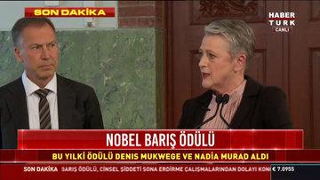 Nobel Barış Ödülü sahipleri belli oldu