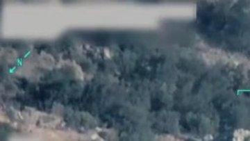 Türk savaş uçakları Kuzey Irak'taki terör hedeflerini böyle vurdu