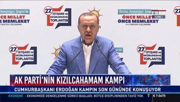 Erdoğan açıklamalarda bulundu