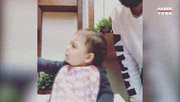 Berkay'ın kızı Arya'nın duygusallığı