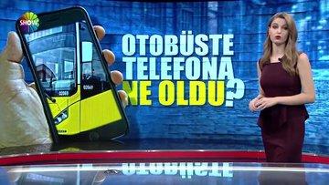 Telefonu çalındı  yolcuları suçladı