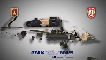 T129B ATAK helikopter tanıtım filmi