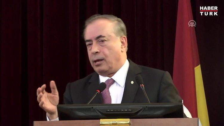 Galatasaray Başkanı Mustafa Cengiz ve Duygun Yarsuvat arasında gerginlik
