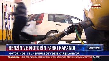Benzin ve motorin farkı kapandı: Motorinde 1 TL  4  kuruş ÖTV'den karşılanıyor