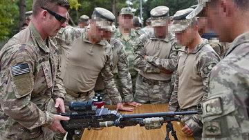 Münbiç devriyesine katılacak ABD askerleri Gaziantep'te eğitimde