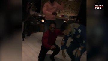 Nusret, dünyaca ünlü rap yıldızı French Montana'yı 'Tavukları Pişirmişem' şarkısıyla oynattı