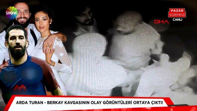 Arda Turan ve Berkay kavgasının görüntüleri!