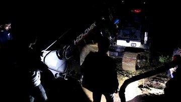Düzce'de iş makinesi kazasında 1 işçi öldü