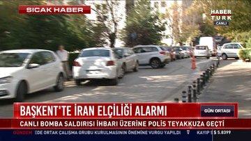 İran'ın Ankara Büyükelçiliği'ne bomba ihbarı!