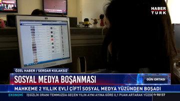 Sosyal medya boşanması
