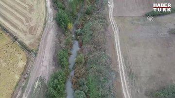 Meriç Deresi, fabrika atıklarıyla kirli akıyor iddiası