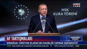 Cumhurbaşkanı Erdoğan'dan af tartışmalarıyla ilgili önemli açıklama