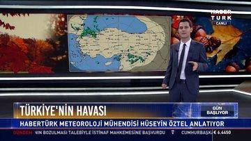 Türkiye'nin havası: Habertürk Meteoroloji Mühendisi Hüseyin Öztel anlatıyor