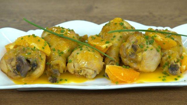 Portakallı Tavuk Budu