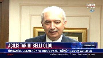Açılış tarihi belli oldu: Ümraniye Çekmeköy metrosu pazar günü 15.30'da açılıyor