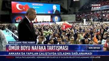 Ömür boyu nafaka tartışması: Ankara'da yapılan çalıştayda uzlaşma sağlanamadı