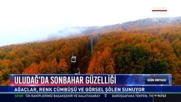 Uludağ'da sonbahar güzelliği: Ağaçlar, renk cümbüşü ve görsel şölen sunuyor
