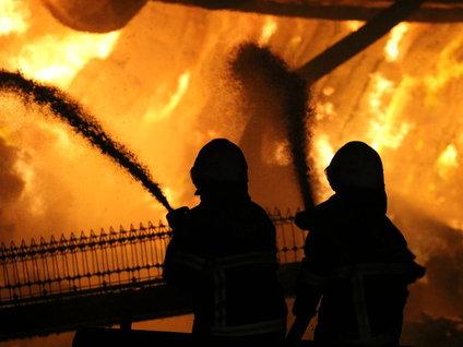 Antakya'da narenciye paketleme fabrikası yandı