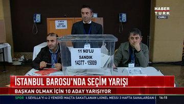İstanbul Barosu'nda seçim yarışı