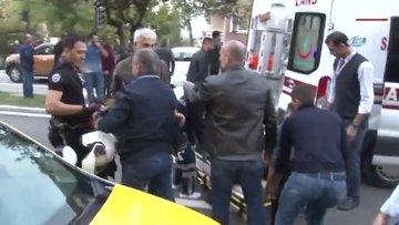 Yunus polisleri taksi ile çarpıştı: 3 yaralı