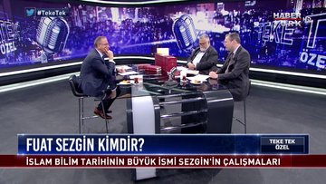 Teke Tek Özel - 21 Ekim 2018 (İslam bilim tarihine damga vuran icatlar hangileriydi?)