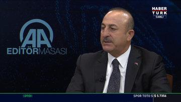 Mevlüt Çavuşoğlu açıklamalarda bulundu