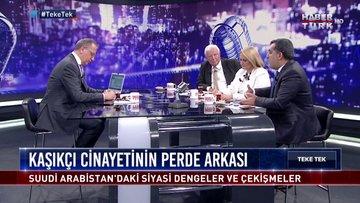 Teke Tek - 23 Ekim 2018 (Kaşıkçı olayı neden Türkiye'de yaşandı?)