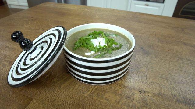 Pazılı mercimek çorbası