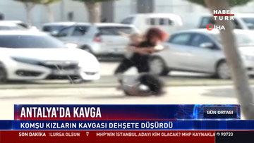 Antalya'da kavga