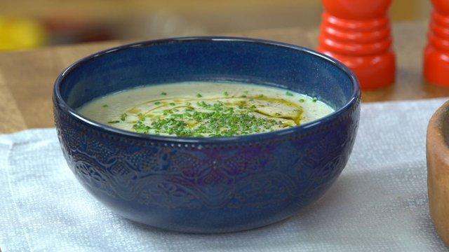 Köz Patlıcanlı Kereviz Çorbası