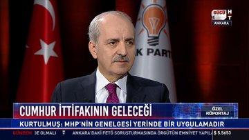 AK Parti Genel Başkanvekili Numan Kurtulmuş Habertürk TV'de soruları yanıtladı