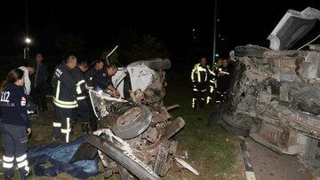Fethiye'de feci kaza: 2 ölü, 1 yaralı