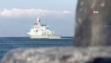 MİLGEM Projesinin 3'üncü gemisi olan Burgazada göreve başlıyor